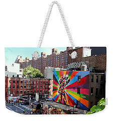 View From The Highline Weekender Tote Bag