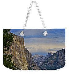 View From Wawona Tunnel Weekender Tote Bag