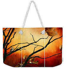 View Of Autumn Weekender Tote Bag
