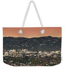 View Of Buildings In City, Beverly Weekender Tote Bag