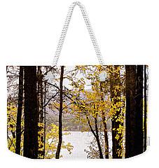 View Of  Lake Mcdonald Weekender Tote Bag