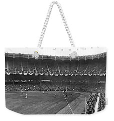 View Of Yankee Stadium Weekender Tote Bag