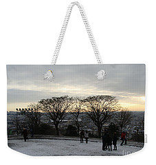 View Over Paris Weekender Tote Bag