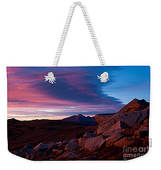 View To Long's Peak Weekender Tote Bag