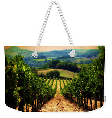 Vigneto Toscana Weekender Tote Bag by Micki Findlay