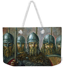 Vikings Weekender Tote Bag by Arturas Slapsys