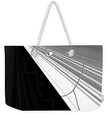 Weekender Tote Bag featuring the photograph Viktor Rogy 1995 by Sir Josef - Social Critic - ART