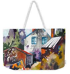 Village Life 1 Weekender Tote Bag