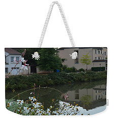 Village Life Weekender Tote Bag