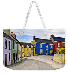 Weekender Tote Bag featuring the photograph Village Street by Jane McIlroy