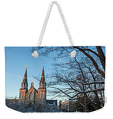 Villanova Winter Saint Thomas Weekender Tote Bag