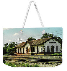 Villisca Train Depot Weekender Tote Bag