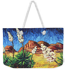 Vincent In Arizona Weekender Tote Bag