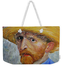 Vincent In Straw Hat Reproduction Weekender Tote Bag by Marna Edwards Flavell