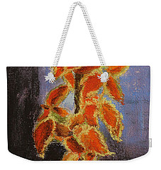 Vincent's Coleus In Pastels Weekender Tote Bag by Marna Edwards Flavell