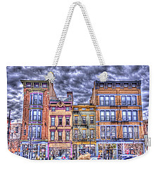 Weekender Tote Bag featuring the photograph Vine Street by Daniel Sheldon