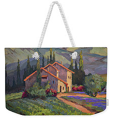 Vineyard And Lavender In Provence Weekender Tote Bag