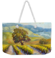 Vineyard Gold Weekender Tote Bag