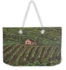 Vineyard In Neuchatel Weekender Tote Bag