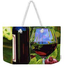 Vino Weekender Tote Bag