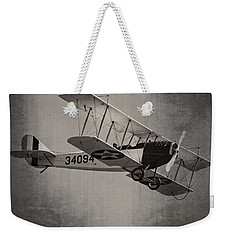Vintage 1917 Curtiss Jn-4d Jenny Flying  Weekender Tote Bag