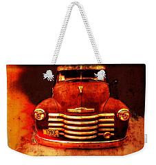 Vintage 1950 Chevy Truck Weekender Tote Bag