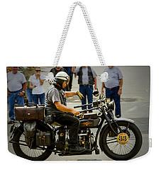 Vintage 33 Weekender Tote Bag