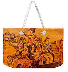Vintage Ad Barker's Liniment Weekender Tote Bag