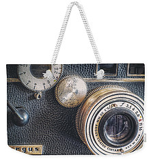 Vintage Argus C3 35mm Film Camera Weekender Tote Bag