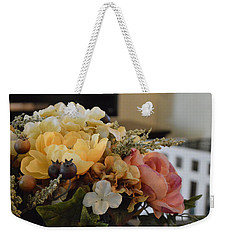 Vintage Arrangement Weekender Tote Bag