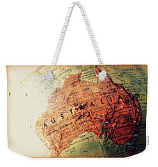 Weekender Tote Bag featuring the photograph Vintage Australia by Faith Williams