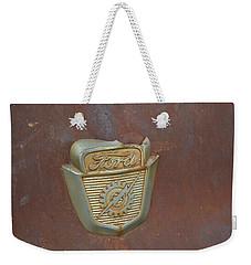Vintage Badge Weekender Tote Bag