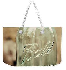 Vintage Ball Mason  Weekender Tote Bag