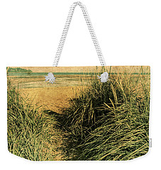 Vintage Beach  Weekender Tote Bag by Roxy Hurtubise