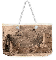 Vintage Canyon De Chelly Weekender Tote Bag by Jerry Fornarotto