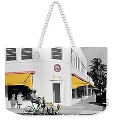 Vintage Cartier Store Weekender Tote Bag