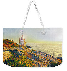 Vintage Castle Hill Light Weekender Tote Bag by Marianne Campolongo