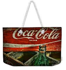 Vintage Coca-cola Weekender Tote Bag