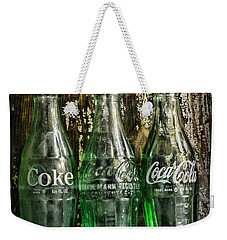 Vintage Coke Bottles Weekender Tote Bag