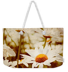 Vintage Daisy Weekender Tote Bag