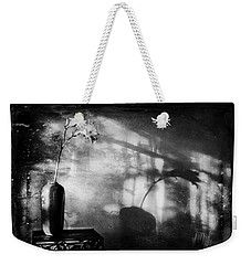 Vintage Daylily In Sepia Weekender Tote Bag