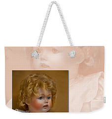 Vintage Doll Beauty Art Prints Weekender Tote Bag