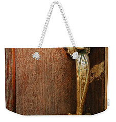 Vintage Door Handle Weekender Tote Bag