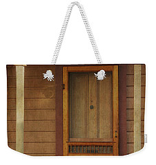Vintage Doorway Weekender Tote Bag