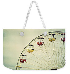 Vintage Ferris Wheel Weekender Tote Bag