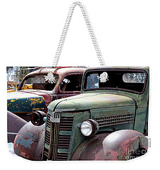 Vintage Weekender Tote Bag by Fiona Kennard