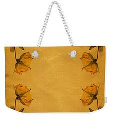 Vintage Flowers Weekender Tote Bag