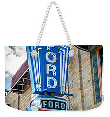 Vintage Ford Sign Weekender Tote Bag
