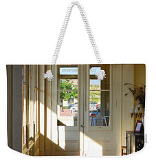 Vintage Foyer Filled With Light - The Ant Street Inn Weekender Tote Bag