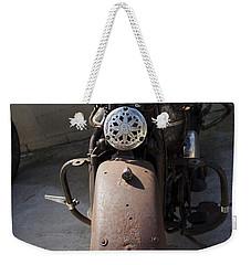 Vintage Harley Weekender Tote Bag